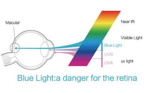 blue light danger for retina
